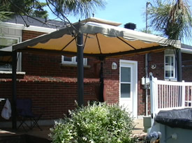 Gazebo or garden canopy
