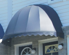 Bell awning