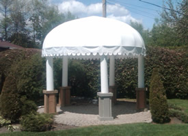 Rotunda awning
